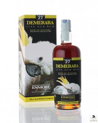 Demerara Enmore Rum 1988 27yo 50% Silver Seal
