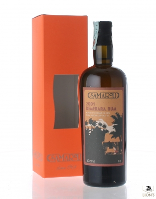 Demerara Rum 2001 cask 61 Samaroli