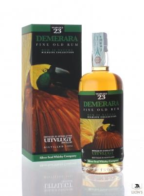 Demerara Uitvlugt Rum 1992 23yo 50% Silver Seal