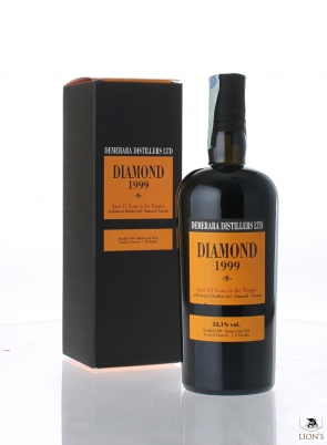 Diamond 1999 15yo 53.1% Velier