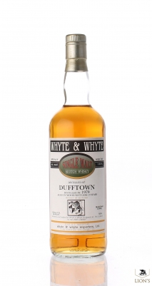 Dufftown 1979 Whyte & Whyte Spirits Library