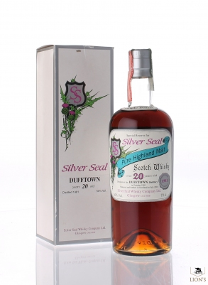 Dufftown 1981 20 years old Silver Seal