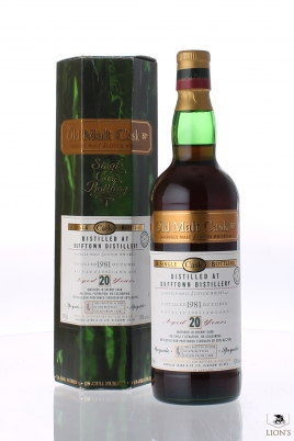 Dufftown 1981 20 years old DL OMC 50%