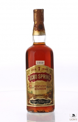 Echo Spring 7 years old Kentucky Bourbon