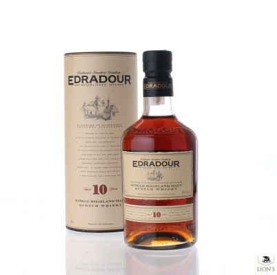 Edradour 10yo 40% 70 cl tube