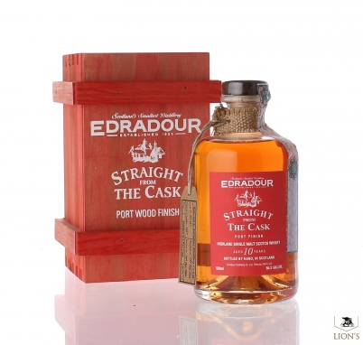Edradour 10yo 56.3% port wood Straight from the cask