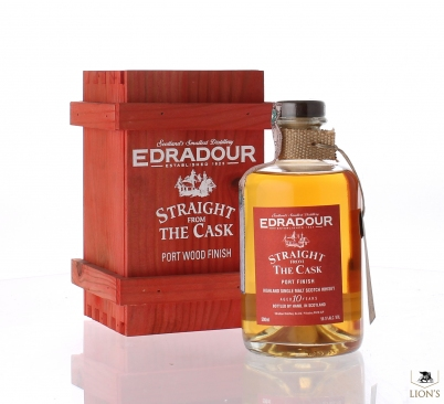 Edradour 10yo 56.5% 50cl Straight from the cask