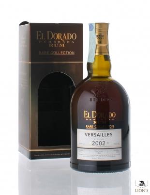 El Dorado Rum Versailles 2002 63%