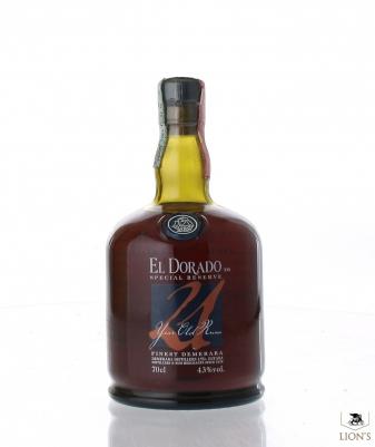 El Dorado Special reserve rum 21yo