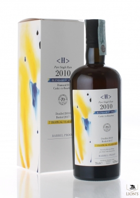 Rum Diamond H 2010 62% Velier 70 Anniversary