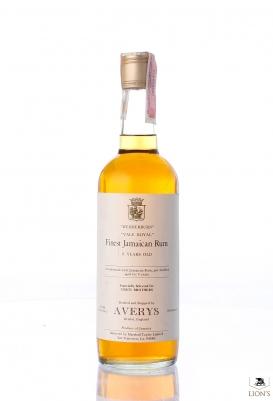 Wedderburn Vale Royal Jamaican Rum Averys for Corti