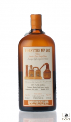 Forsyths Wp 502 white Jamaica rum 57% Habitation
