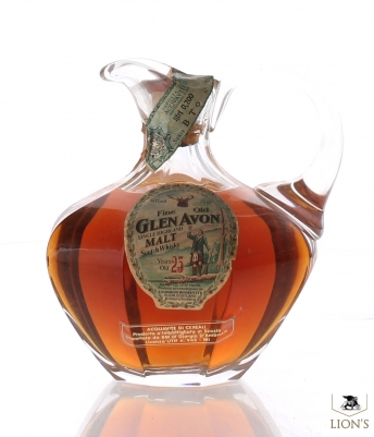 Glen Avon 25 year old Decanter Sestante Imp.