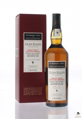 Glen Elgin 1998 Manager's Choice