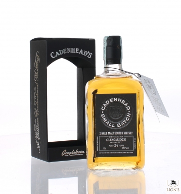 Glen Garioch 1990 24yo 47.8% Cadenhead's