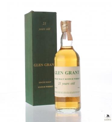 Glen Grant 1961 21yo Zenith green box