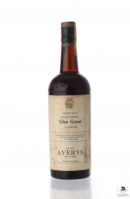 Glen Grant 1969 Averys 11 Years Old