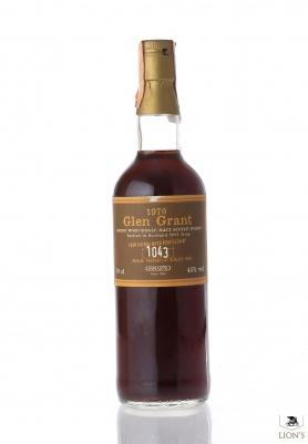 Glen Grant 1970 Samaroli