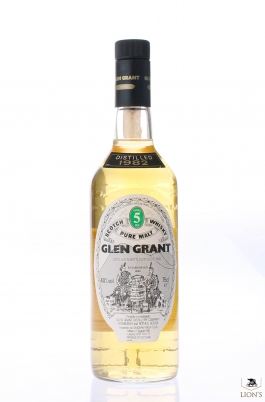 Glen Grant 1982 5y 40% 75 cl Seagram Import