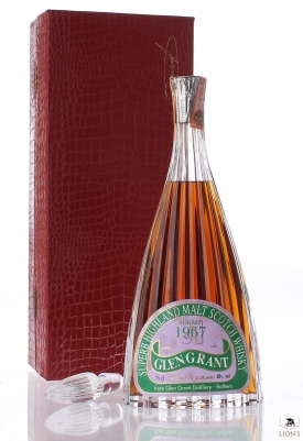 Glen Grant 1967 21 years old crystal decanter