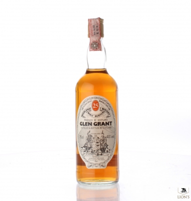 Glen Grant 25 years old G&M