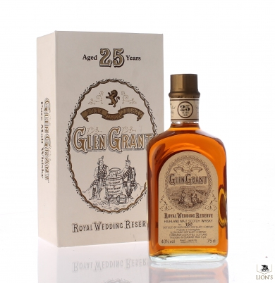 Glen Grant 25yo Royal Wedding Reserve