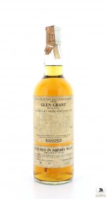 Glen Grant 27 Years Old Years SAMAROLI