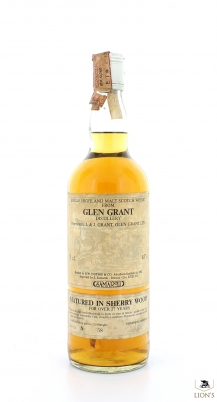 Glen Grant 27 Years Old Years SAMAROLI