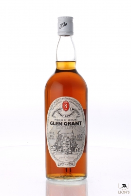 Glen Grant 8 years old 100 Proof