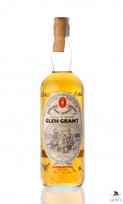 Glen Grant 8 years old 100 Proof Flowers