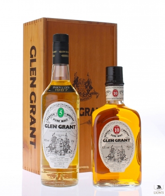 Glen Grant 1987 5 years old and 10 years old