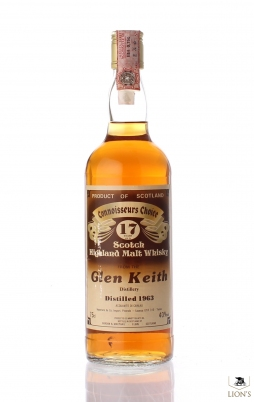 Glen Keith 1963 17 years old CC Brown Label Violi
