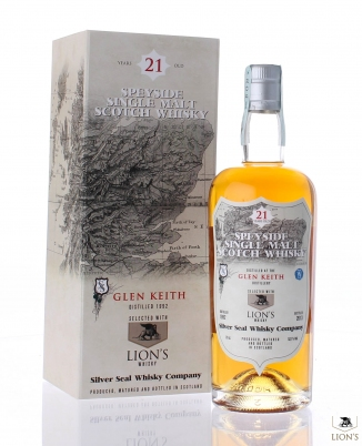 Glen Keith 1992 21 years old 51.2% Silver Seal for Lion's Whisky