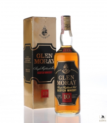 Glen Moray 10 Years Old with box