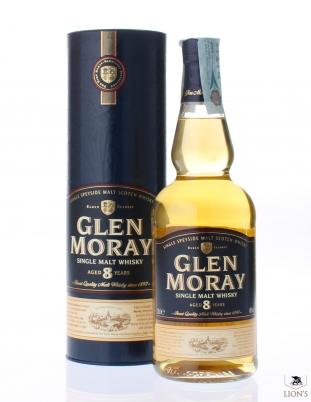 Glen Moray 8yo 40% 70cl tube