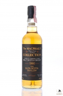 Glen Scotia 1990 The Macphail's collection
