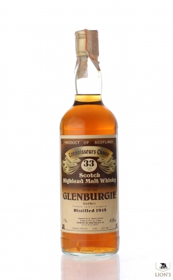 Glenburgie 1949 33 years old G&M Connoisseurs Choice