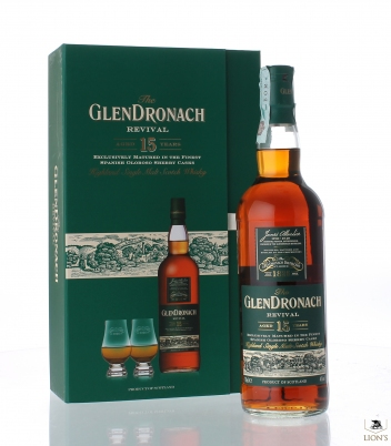 Glendronach 15 years Revival Gift Set