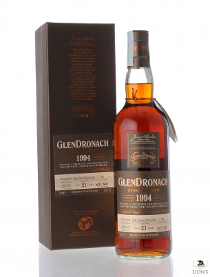 Glendronach 1994 21yo 54.1% Bottled for Silver Seal & Lion's Whisky