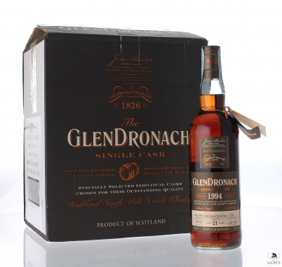 Glendronach 1994 21yo 54.1% cask 276 case of 6
