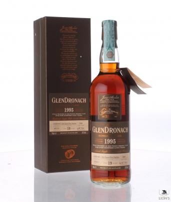 Glendronach 1995 19yo 54.5% cask 3806