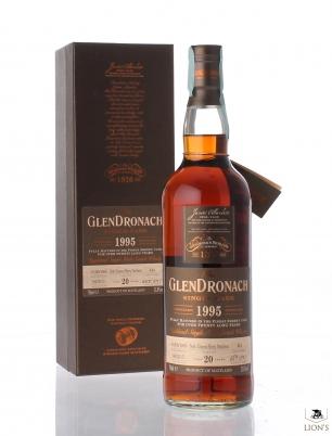 Glendronach 1995 20yo 52.0% cask 444