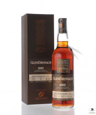 Glendronach 2002 14yo 55.5% cask 1504