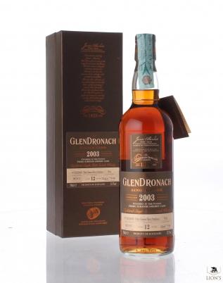 Glendronach 2003 12yo 53.7% cask 934