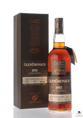 Glendronach 2003 13yo 52.5% cask 4034
