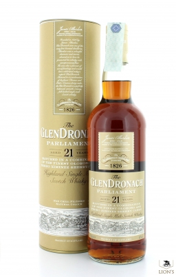 Glendronach 21 Years Old Parliament 48%