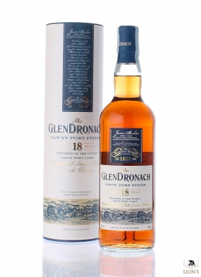 Glendronach 18 years old Tawny port Finish