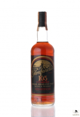 Glenfarclas 105 8 years old 60% 75cl