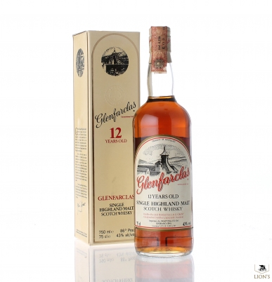Glenfarclas 12 years old Frattina Import