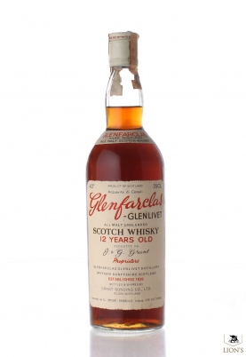 Glenfarclas 12 years old Pinerolo Imp.